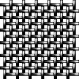 Metallineinander greifen Nahtloses Muster Detail des alten hölzernen Fensters Lizenzfreie Stockbilder
