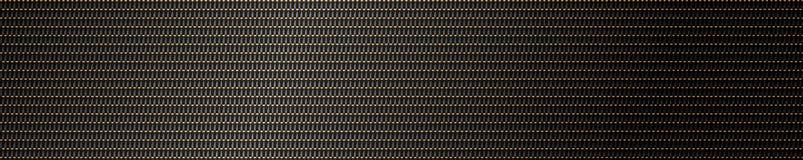 metallingreppsbakgrund i guld och svart Royaltyfri Foto