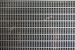 Metallisch rollen Sie oben Tür- und Gitterhintergrund lizenzfreie stockbilder