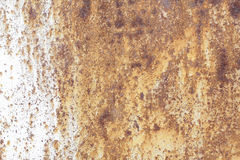 Metallische alte Wand Garagentor Beschaffenheit Lizenzfreie Stockfotografie