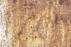 Metallische alte Wand Garagentor Beschaffenheit Lizenzfreie Stockfotos