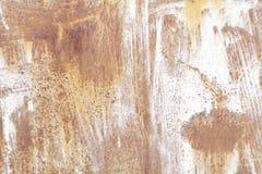 Metallische alte Wand Garagentor Beschaffenheit Stockfoto