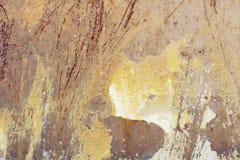 Metallische alte Wand Garagentor Beschaffenheit Lizenzfreies Stockbild