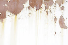 Metallische alte Wand Garagentor Beschaffenheit Grunge Arthintergrund Stockbild