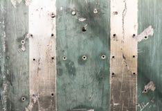 Metallische Beschaffenheit mit Kratzern Stockfoto
