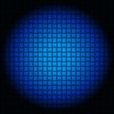Metallische blaue industrielle Beschaffenheit Lizenzfreies Stockfoto