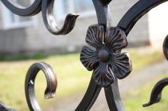 Metallische Blume des Eisens stockbilder
