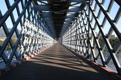 Metallische Brücke Stockfotos