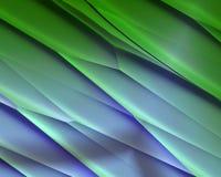 Metallische diagonale Streifenbeschaffenheit des blauen Grüns Stockfotografie