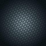 Metallische Edelstahltapete der Vektorillustration - geometrischer Polygonhintergrund des abstrakten schwarzen Metallgitters stock abbildung