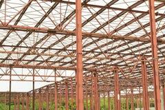 Metallische Gebäudestruktur Lizenzfreie Stockbilder