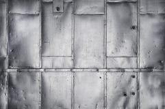 Metallische industrielle Hintergrundbeschaffenheit Lizenzfreie Stockfotos