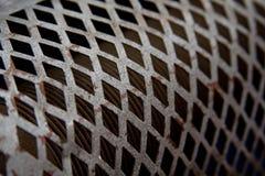 Metallische Ineinander greifenbeschaffenheit Stockfotos