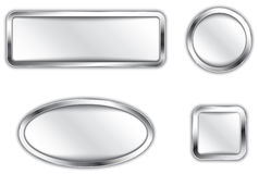 Metallische Knöpfe Lizenzfreie Stockbilder