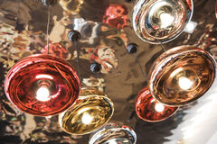 Metallische Lampe Stockfotos