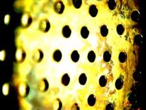 Metallische Nahaufnahme Stockbild