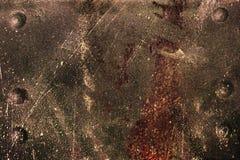 Metallische Planke des Fragments Stockfoto