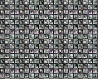 Metallische Quadrate II Lizenzfreies Stockbild