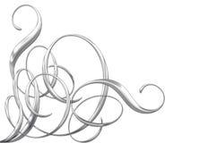 Metallische Verzierungen vektor abbildung