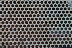 Metallische Wand lizenzfreie stockfotografie