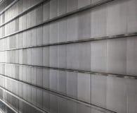 Metallische Wand lizenzfreies stockbild