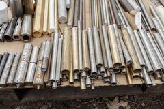 Metallische Zylinder Lizenzfreies Stockfoto