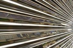 Metallischer abstrakter Hintergrund Lizenzfreies Stockbild
