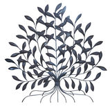 Metallischer Baum Stockfotografie