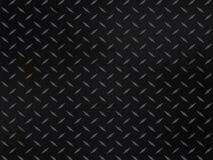 Metallischer Diamantplattenhintergrund Lizenzfreie Stockfotos