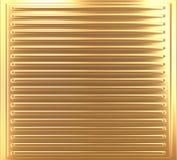 Metallischer goldener Hintergrund Lizenzfreie Stockfotos