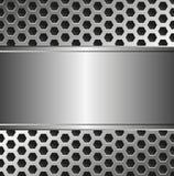 Metallischer Hintergrund Lizenzfreies Stockfoto