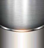 Metallischer Hintergrund Lizenzfreie Stockbilder