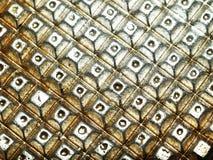 Metallischer Hintergrund Stockfotos