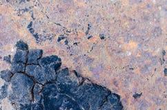 Metallischer Hintergrund des Rosts lizenzfreie stockbilder