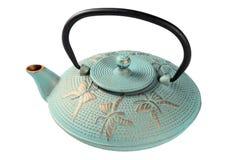 Metallischer Kessel für Tee Lizenzfreie Stockfotos