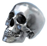 Metallischer Schädel Lizenzfreies Stockbild