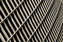 Metallischer Zaun Lizenzfreies Stockbild
