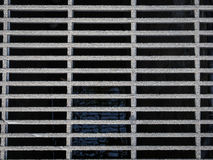 Metallisches Abwasserkanal-Abfluss-Gitter Lizenzfreies Stockfoto