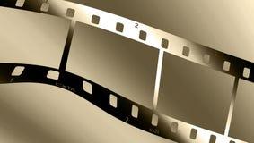 Metallisches filmstrip Lizenzfreie Stockfotografie