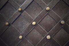 Metallisches Muster der Weinlese Dekorative karierte Elemente Stockfotos