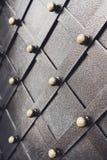 Metallisches Muster der Weinlese Dekorative karierte Elemente Lizenzfreie Stockbilder