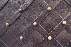 Metallisches Muster der Weinlese Dekorative karierte Elemente Stockbild