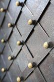 Metallisches Muster der Weinlese Dekorative karierte Elemente Stockfotografie