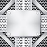 metallisk bakgrund Arkivbild