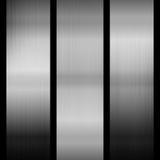 metallisk bakgrund Arkivbilder