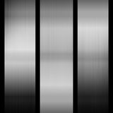 metallisk bakgrund stock illustrationer
