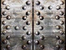 Metallisk bakgrundsmodell Royaltyfria Foton