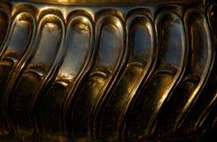 metallisk bunke Arkivfoto