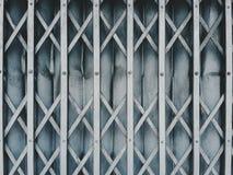 metallisk dörr Arkivbild
