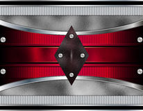 Metallisk designbakgrund Arkivbild